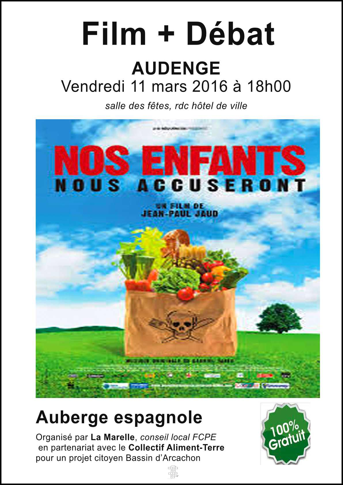 Projection Film 11 mars 2016